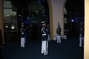 Guards at the Gala