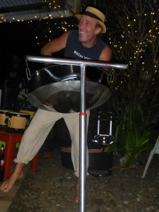 Andy on the Steel Drum