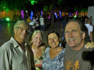 With Roger and Susan of Second Wind in Santa Marta