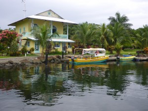 Bocas Marina Office & Water Taxi